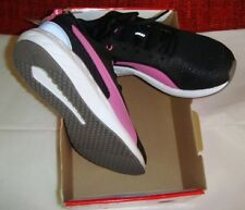 PUMA SWYPE LOW SNEAKERS WOMEN SHOES BLACK/PINK.  Size 8 (US)
