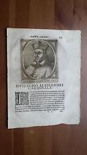 1664 Calvi Scrittori Bergamaschi: Guilelmo Alessandri Cardinale