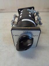 Salzer Rotary Cam Switch S608L-61027-A033AW 110A 3Ph    L-61027-24