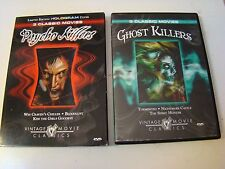 Psycho Killers & GHOST KILLERS DVDS 6 VINTAGE MOVIE CLASSICS REGION 1 WES CRAVEN