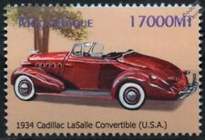 1934 CADILLAC LASALLE Convertible Mint Automobile Car Stamp (2002 Mozambique)