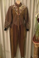 VINTAGE 70'S ~ SALLY BROWNE ~ PANTS/SUIT * Size 10 *