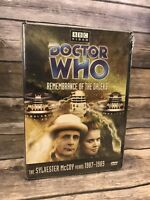 Doctor Who Remembrance of the Daleks (DVD, 2002) Story 152 Sylvester McCoy NEW