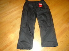 Mens XXL CB Sports Ski Snowboard Winter Snow Cargo Pants Black 2XL Adult New