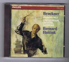 BRUCKNER CD SYMPHONY No 7/ BERNARD HAITINK/ CONCERTGEBOUW ORCHESTRA