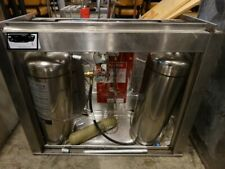 Stainless Steel Commercial Ansul System w/ 2 Tanks