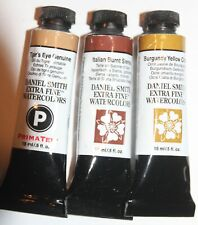 3 DANIEL SMITH Extra Fine Watercolor Paint:15ml-- BROWN'S-Series 2