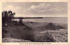 CANADA - QUEBEC - LAC ST. JEAN - VUE DU LAC ST. JEAN - RARA CARTOLINA - ANNI '30