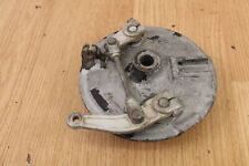 1982 YAMAHA YZ490 Dual Lead Front Brake Plate with Shoes