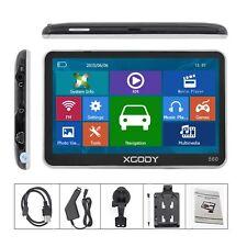 XGODY 5'' GPS SAT Navigation Free UK Full Europe 3D Map Touchscreen 8GB 128MB FM