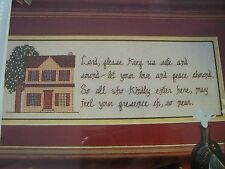 House Blessing OOP Magazine Cross Stitch PATTERN (P)