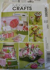 McCall's Pattern M6095; al kinds of sewing and female accessories; perfect gifts