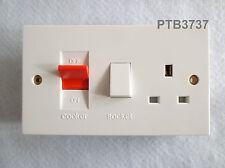 COOKER CONTROL UNIT DOUBLE POLE STANDARD WHITE 45A FT201625