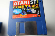 Atari ST Review Magazine Cover Disk Cyber Studio getestet & funktioniert