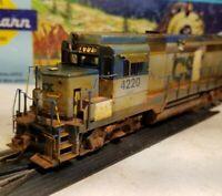 Proto 2000 CSX gp30 weathered locomotive train HO Life Like patched