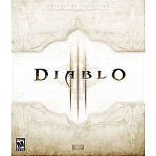 Diablo III 3: Collector's Edition [PC-DVD Computer, Blizzard Action RPG] NEW
