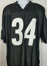 "NFL Pittsburgh Steelers size XL Black Jersey #34 ""Mendenhall"" Short Sleeve v-nec"