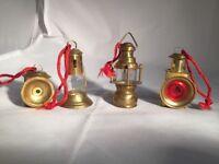 house of lloyd christmas around the world brass coach lamp ornament 1996