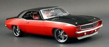 1969 RS Camaro Chevy Vintage Race Sport Car 24 Rare Hot Rod 1 18 Carousel Red 12