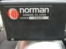 Norman 200b & LH2K flash head & battery & reflector & charger fully tested 2