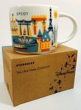 New Disney Starbucks EPCOT V3 14oz You Are Here Series Mug NIB