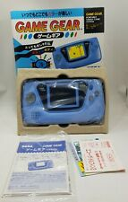 NEW SEGA Game Gear Console Rare HGG-3211 BLUE Tested Retro Vintage JAPAN gg