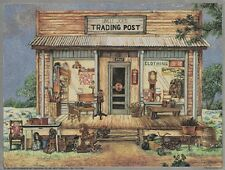 Beautiful Matted Lot of 5 Classic Country Scenes Foil Art Prints~8x10