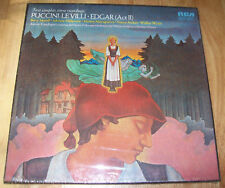 NEW Puccini Le Villi Edgar Act II SEALED 2-Lp RED SEAL FREE US SHIPPING