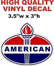 Vintage Style American Gasoline Gas Pump Decal -The Best Or Your Money Back