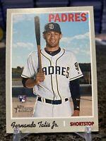 2019 Topps Heritage #517 Fernando Tatis Jr. Rookie Card RC San Diego Padres Mint