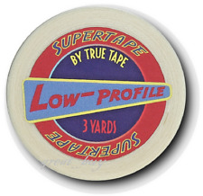 "SuperTape Low Profile 1/4""x 3 Yards_Non Glare Tape Roll_ Hair piece,Lace wigs."