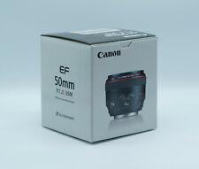 Canon EF 50 mm F/1.2 L USM Objektiv NEU OVP