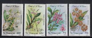 ST. VINCENT Orchids MNH set