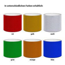 Reflektorband Wabenmuster 5 cm breit weiß rot blau gelb grün orange 3 10 20 50 m