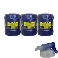 60L MANNOL Energy 5W-30 API SL/CF Öl Motoröl MN7511-20  inkl. Auslaufhahn