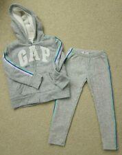 Gap Kids Girls' WorldWide Cozy Gray Heather Hoodie & Leggings Size Small 6-7 Yrs