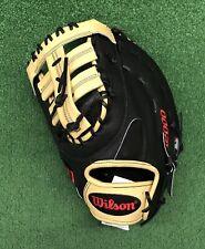"""Wilson A2000 12.5"""" SuperSkin Left Hand Baseball First Base Mitt WTA20LB201620SS"""