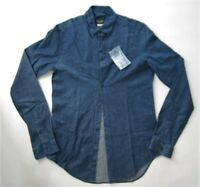 Zara for men`s denim shirt casual sport colour blue size XS S M L XL XXL new