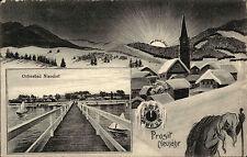 Niendorf Ostsee Ostholstein AK ~1910 Grußkarte Prosit Neujahr Verlag Drevsen