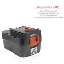 2.0AH Ni-Cd Battery For Black & Decker, Firestorm FS140BX 499936-34 499936-35