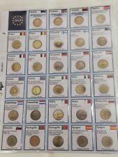NEW Aggiornamento 2018 per RACCOGLITORE MONETE DA 2 EURO COMMEMORATIVI