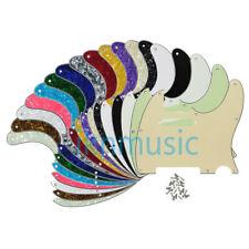 US Tele Guitar Pickguard Scratch Plate for Standard 8Holes Telecaster 19 Colors