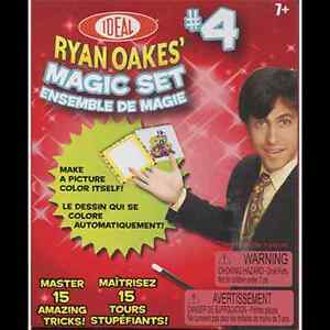 RYAN OAKES MAGIC SET #4 WITH 15 AMAZING TRICKS KIT PROPS GIMMICKS DISAPPEARING