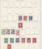 france 1944 stamps page ref 11138