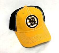 0f1c104d1b0 NEW Boston Bruins Reebok Gold   Side Logo Hat Cap Snapback Adjustable  FREESHP