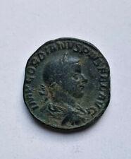Gordien III Sesterce ( an 240/243 ), Rome, Ric 297a, très bel état, patine olive