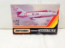 DASSAULT MYSTERE IV. une années 1980 MATCHBOX 1/72 VINTAGE AIRCRAFT Pk-47
