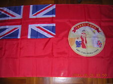 British Empire Pre 1931 of British Newfoundland of Canada flag Red Civil Ensign