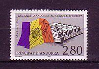frz.Andorra Michelnummer 487 postfrisch (intern: Mitläufer 7002a)