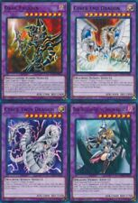 Cyber End Dragon +Cyber Twin Dragon + Dark Magician Girl Dragon + Paladin LEDD